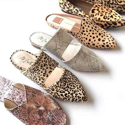 Flats and Mules