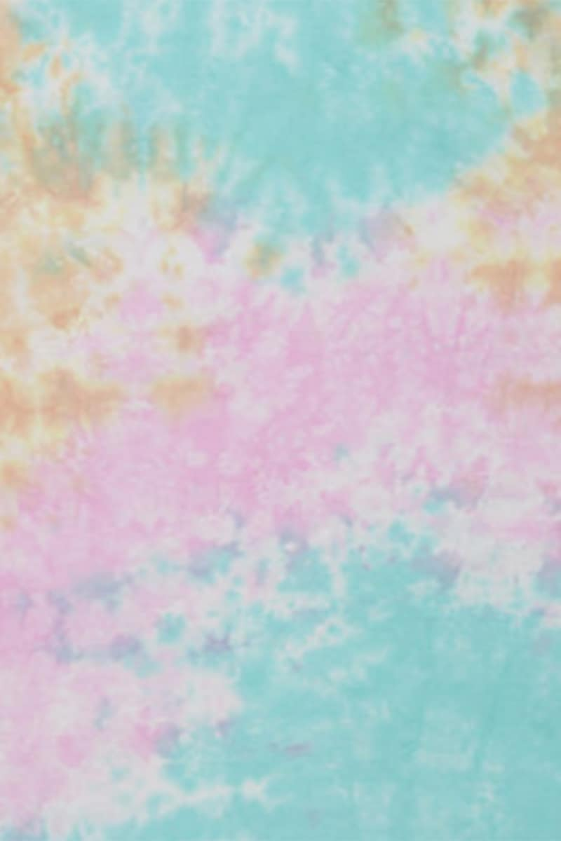 100 Cotton Ss Tie Dye Tee In Snow Cone 67658