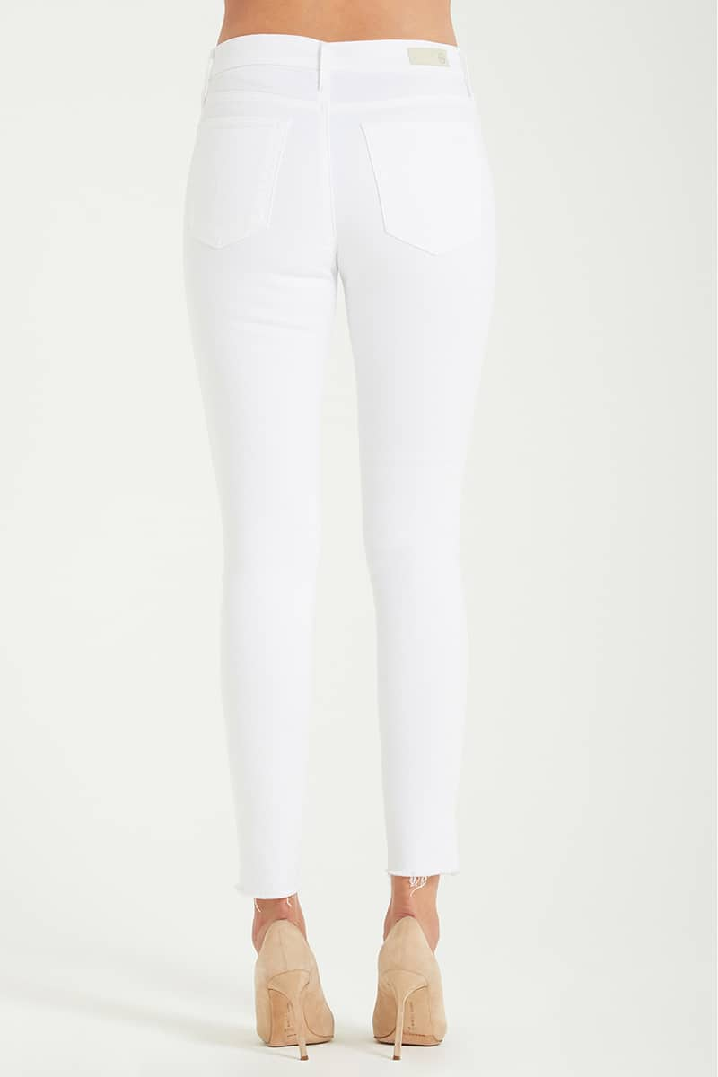 ag jeans farrah ankle jean in uncharted white 83618