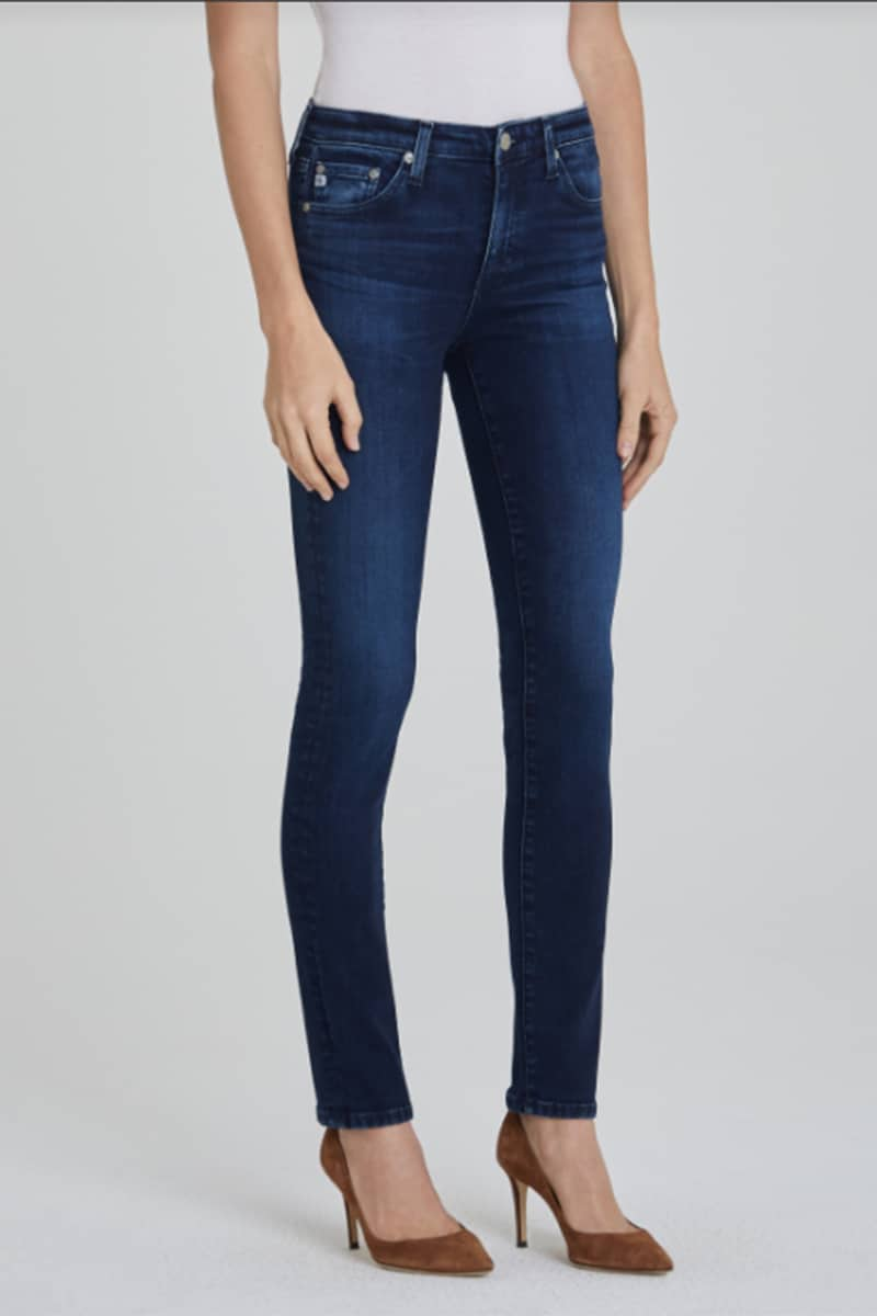 Ag Jeans Farrah Skinny Ankle In 5 Yrs Cache 74235