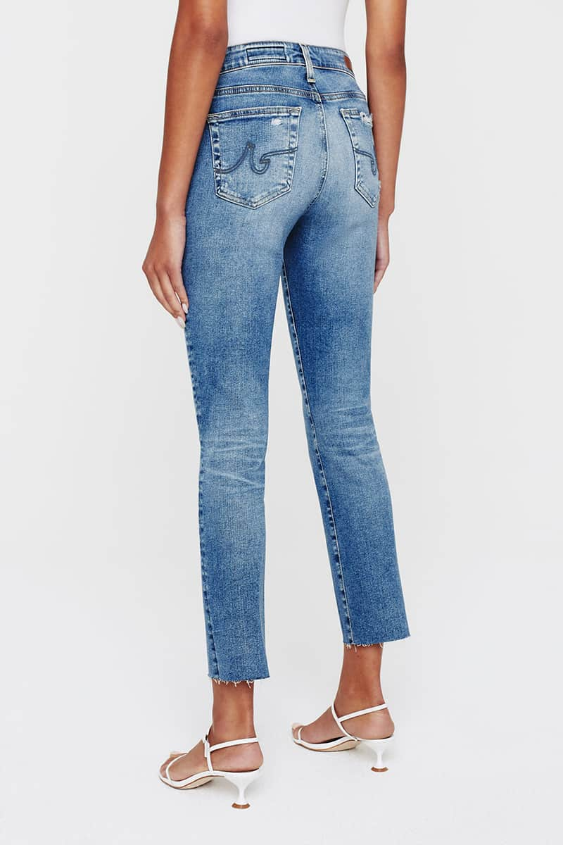 ag jeans mari crop jean in 17 yrs coldwater 85744