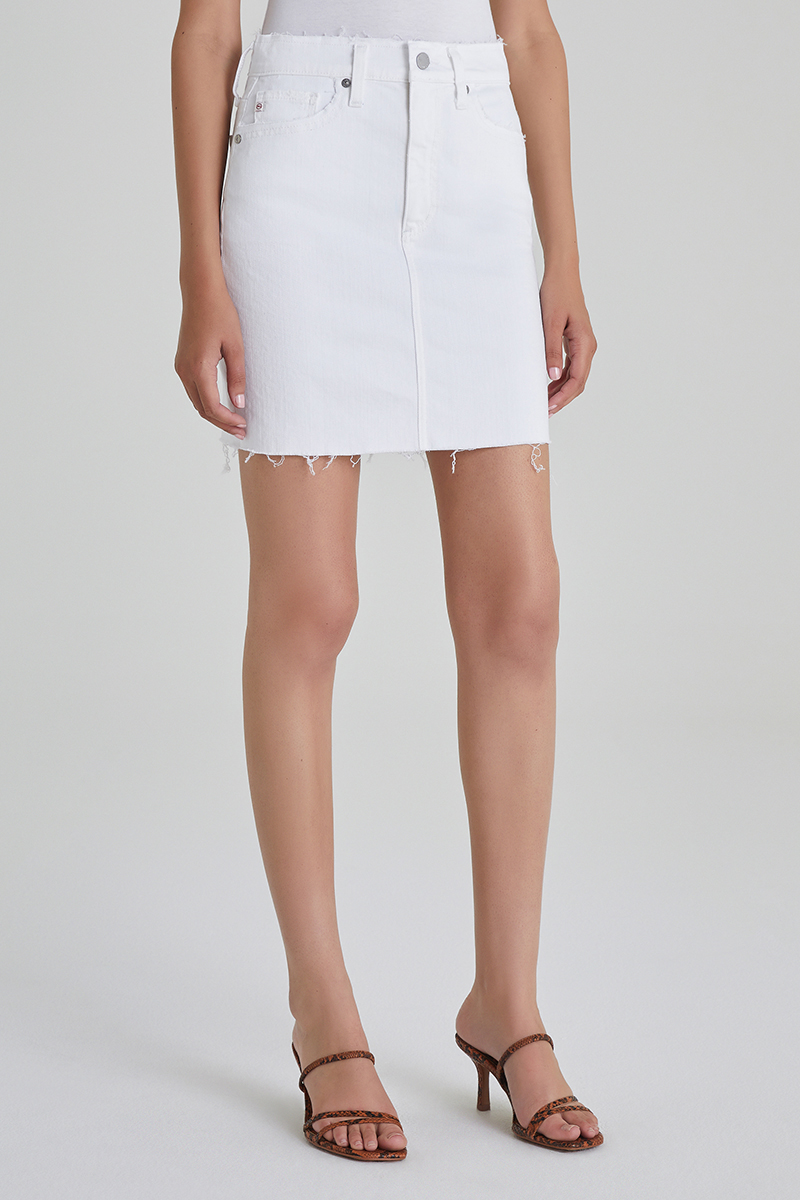 Ag Jeans The Vera Mini In Retro White 62764