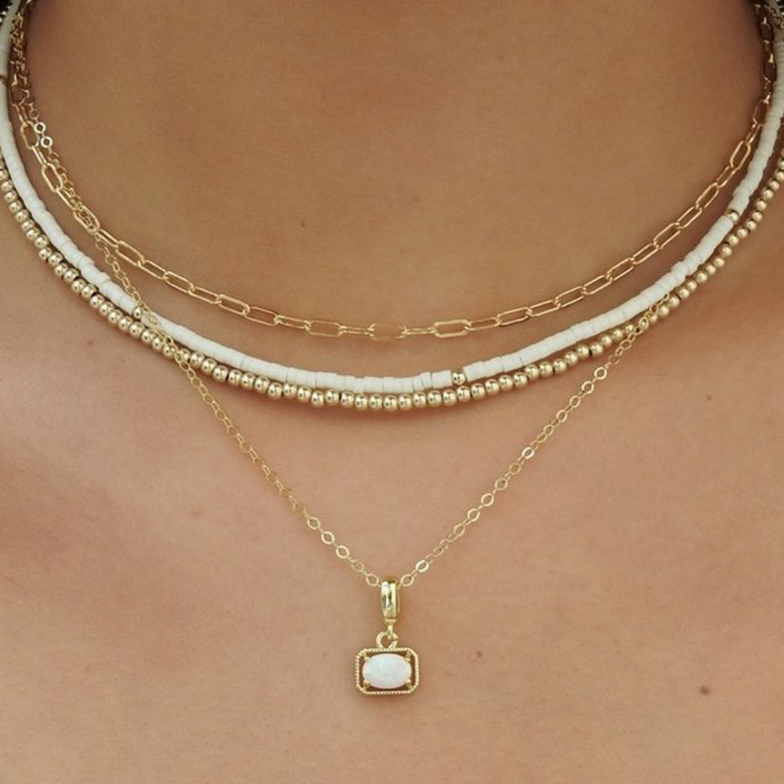 bayou necklace in blue 89928