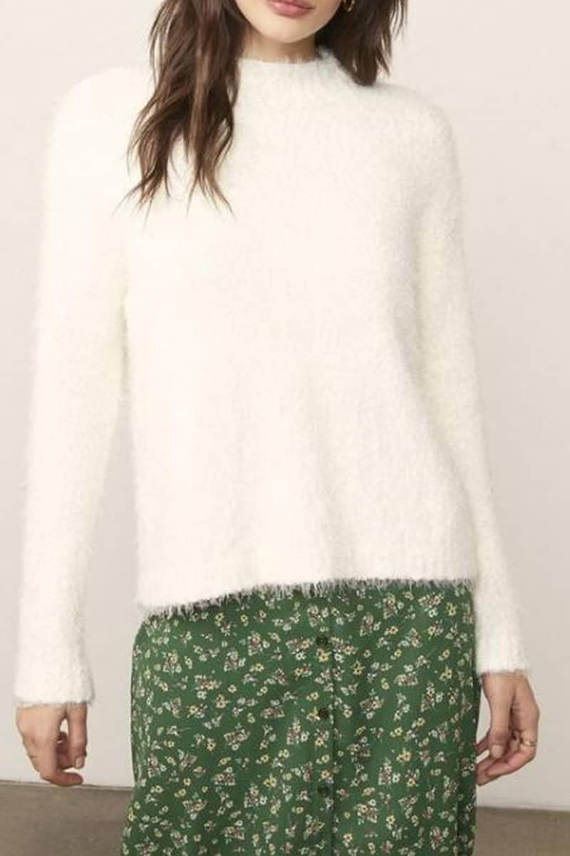 Bb Dakota Its Important Sweater In Ivory 73370