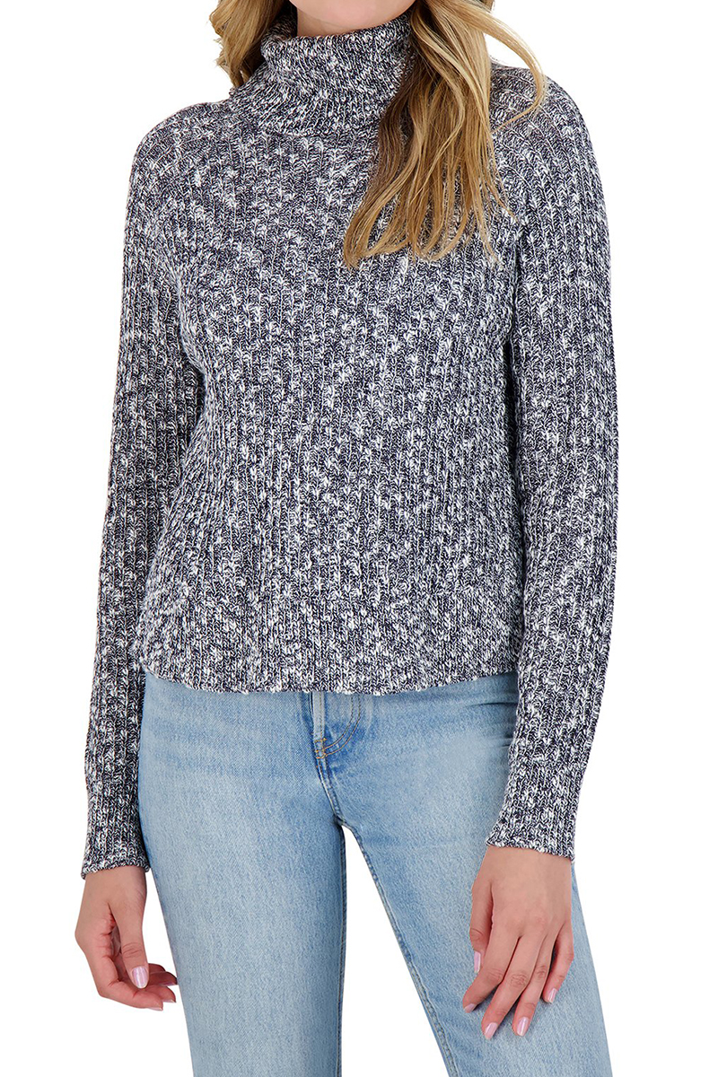 Bb Dakota Warm Factor 100 Cotton Sweater In Deep Ocean 69847