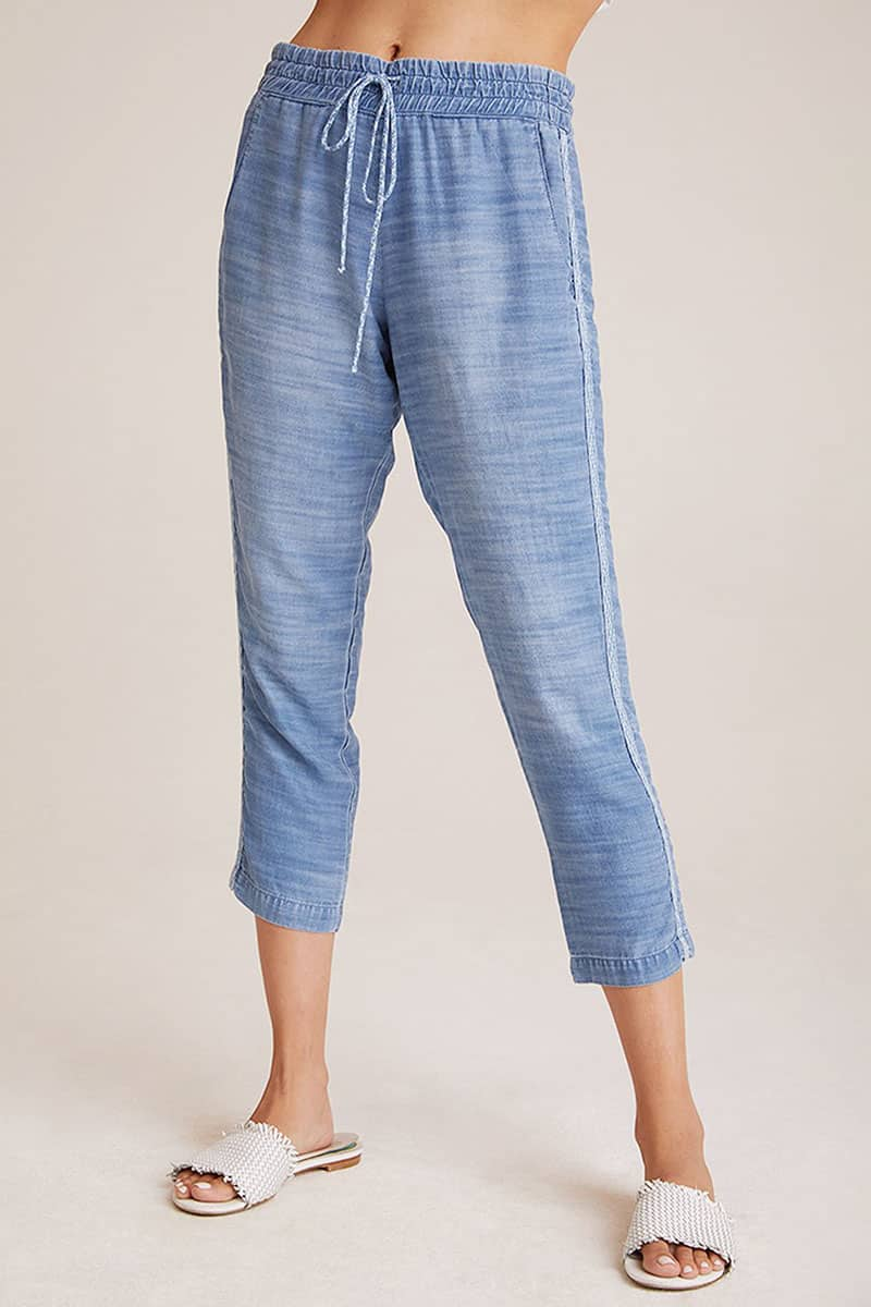 Bella Dahl Double Stripe Oceanside Wash Pant 52151