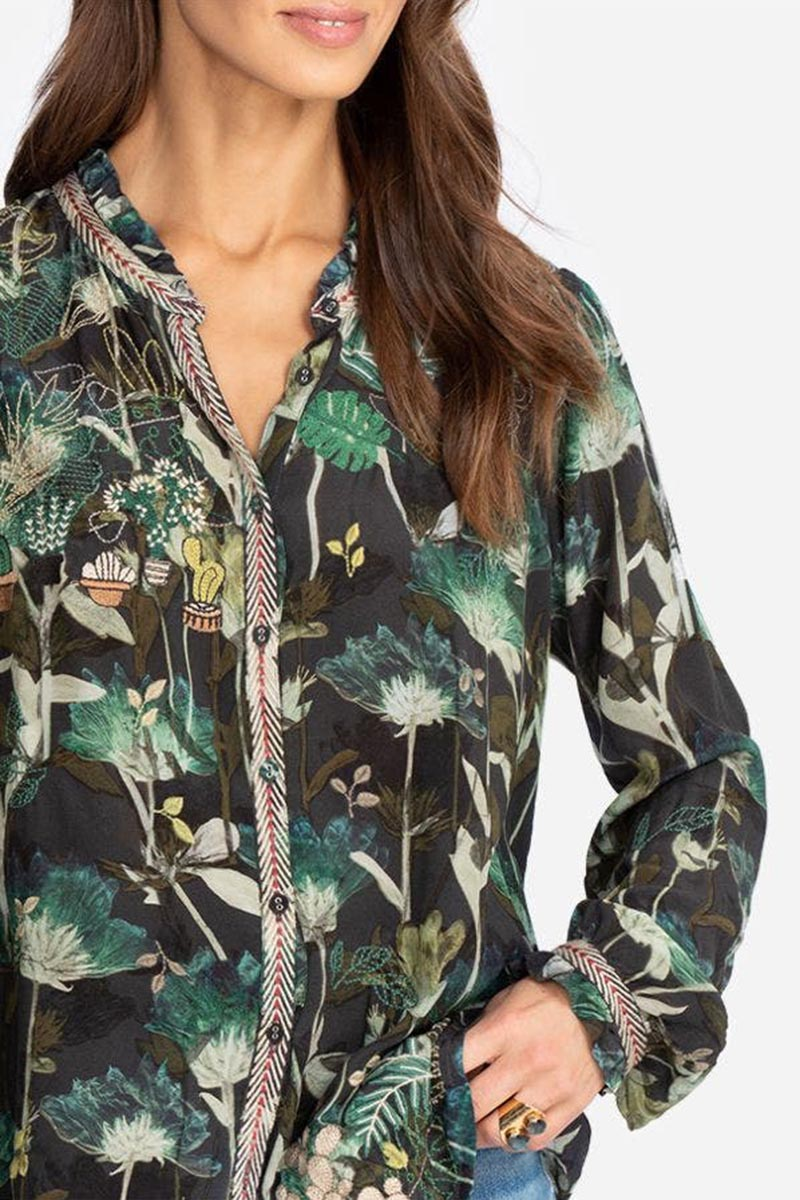 biya by johnny was cactus blouse 93147