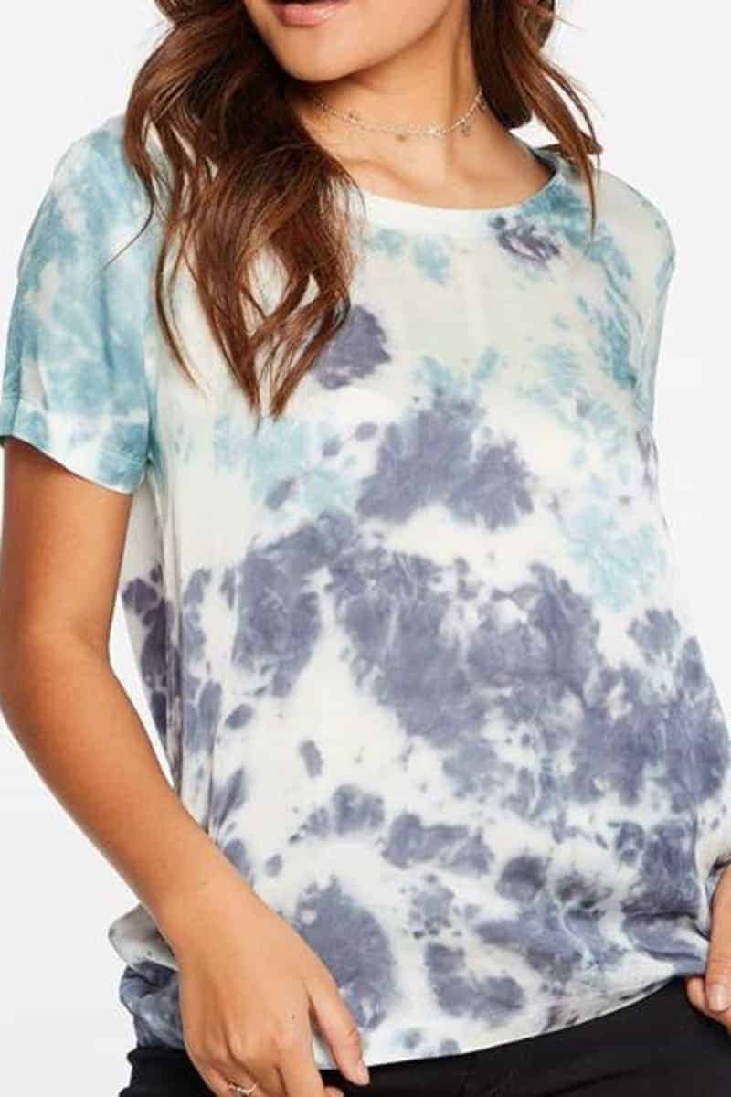 Chaser Silky Tie Dye Tee 66109
