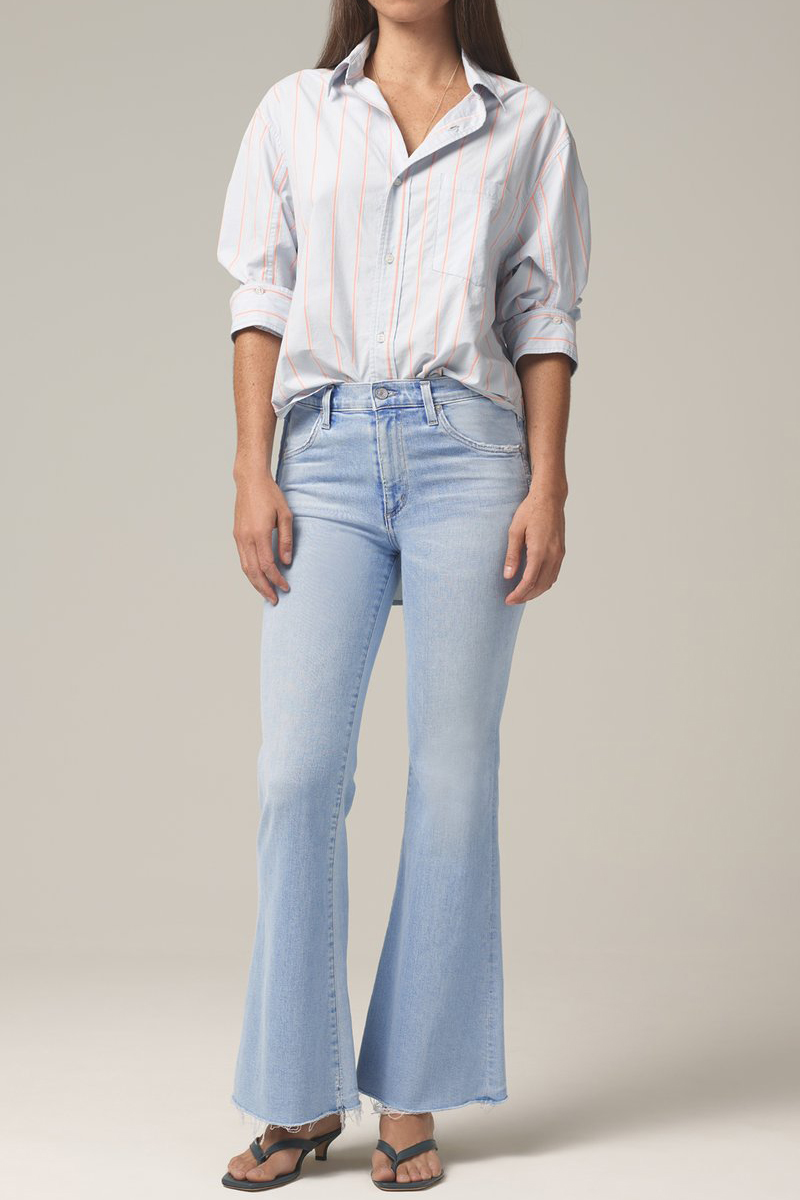 Citizens Of Humanity Chloe Flare In Soft Fade 62700