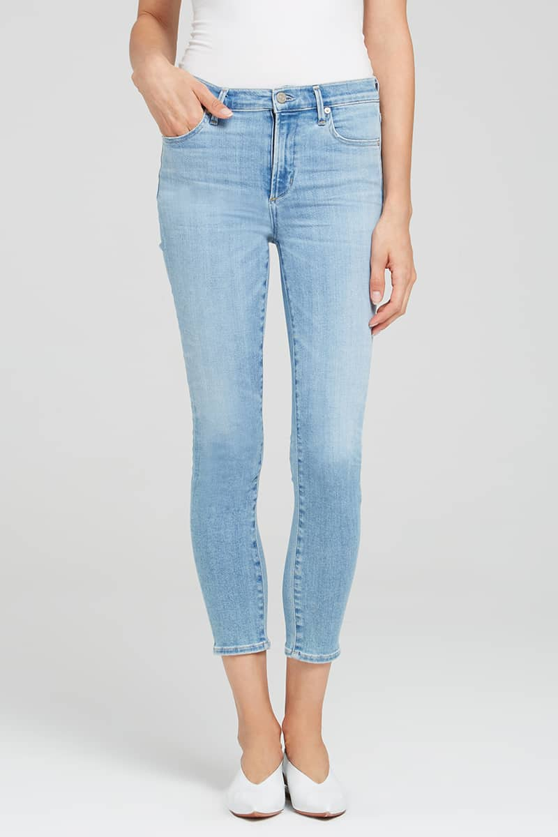 b71e1d9873dcb Citizens of Humanity Rocket Crop Highrise Jeans in Glory • Cotton ...