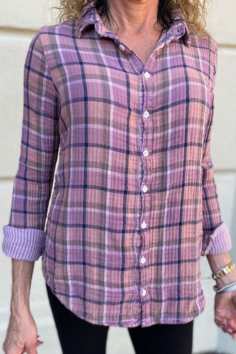 cp shades romy shirt in dusty lavender 95954