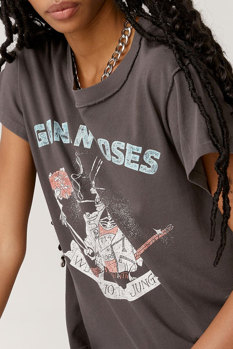 daydreamer 100 cotton guns n roses welcome to the jungle tee 89398