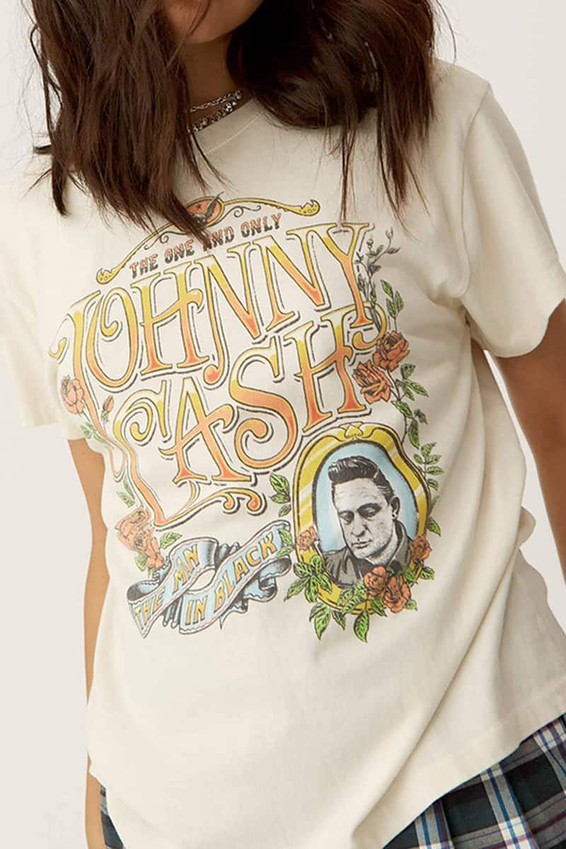 Daydreamer 100 Cotton Johnny Cash The One And Only Tour 79348