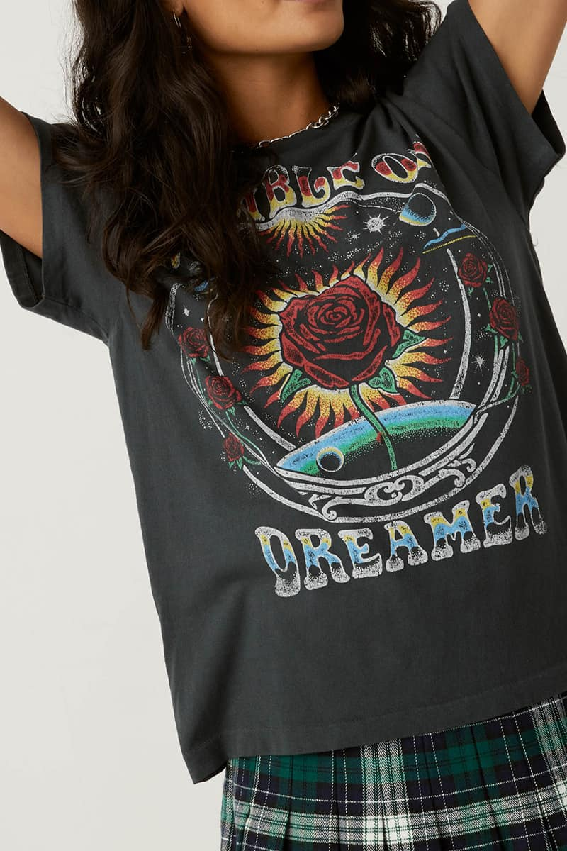 Daydreamer 100 Cotton Ramble On Dreamer Tour In Vintage Black 80357