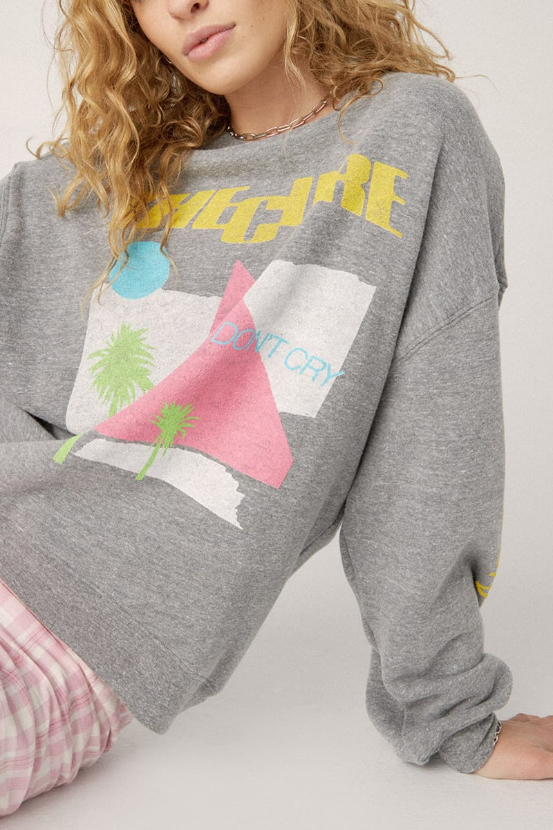 daydreamer the cure boys dont cry oversized sweatshirt 94738