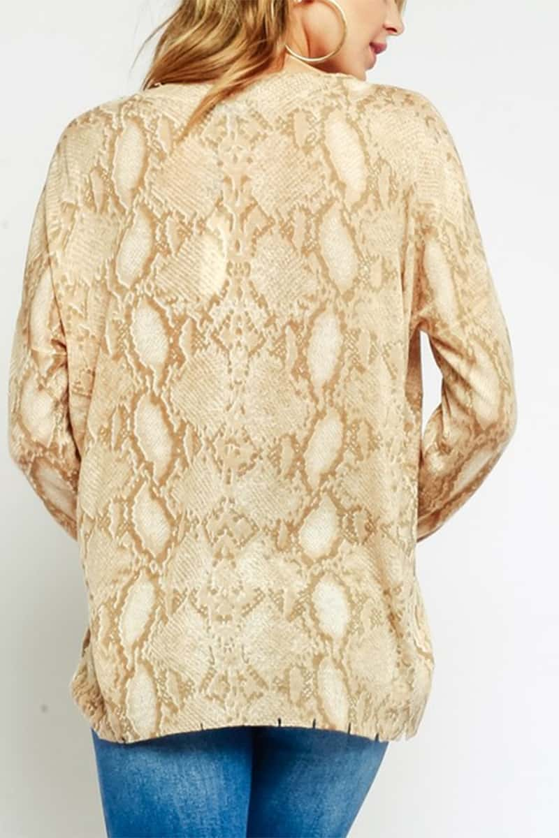 Distessed Snake Top 67753