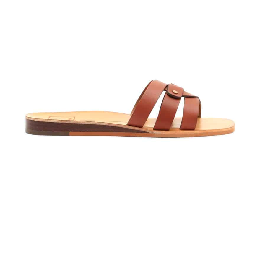 86f78c8631a2 Dolce Vita Cait Leather Slide Sandal in Brown • Cotton Island ...