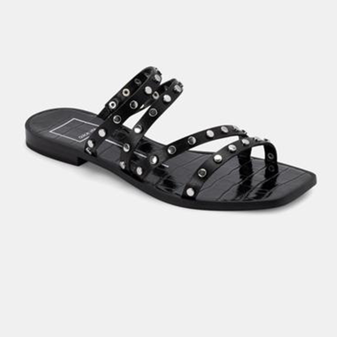 Dolce Vita Izabel Studded Sandal In Black 81037