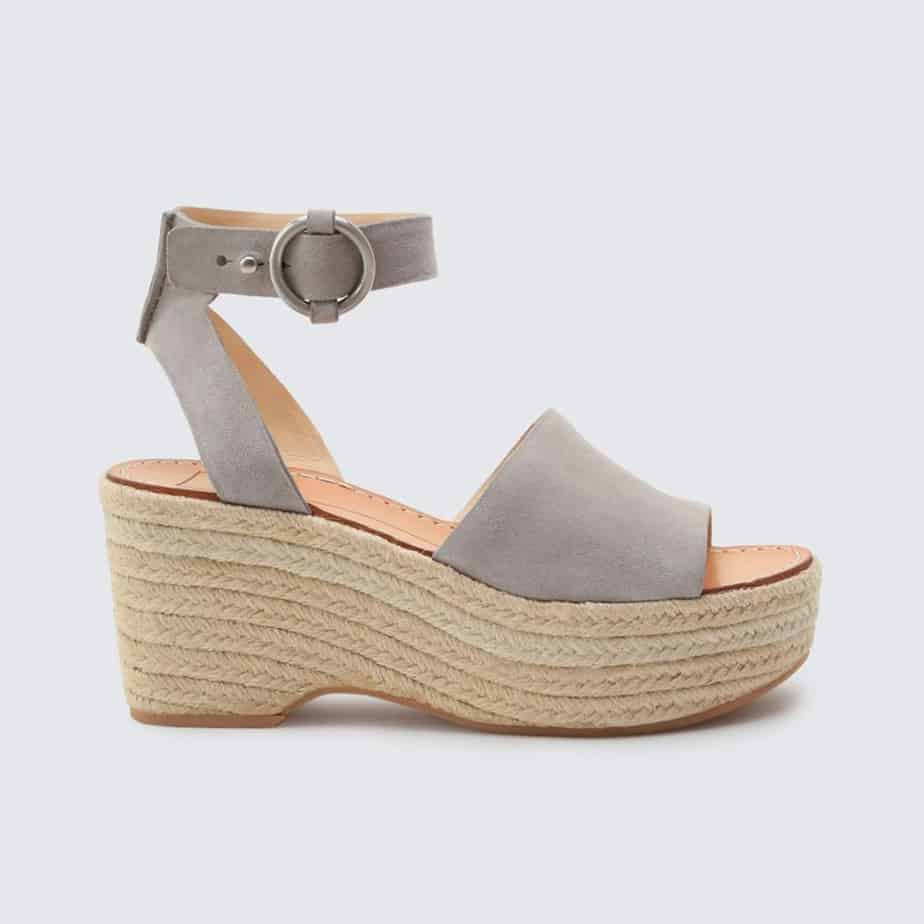 1c64e008648 Dolce Vita Lesly Grey Rope Wedge Sandal • Cotton Island Women's Clothing  Boutique
