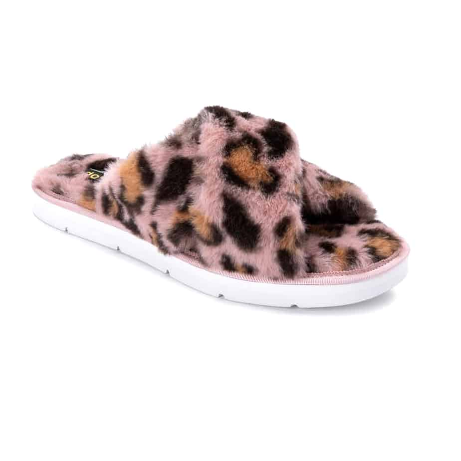 Dolce Vita Pillar Slipper In Leopard Multi 73547