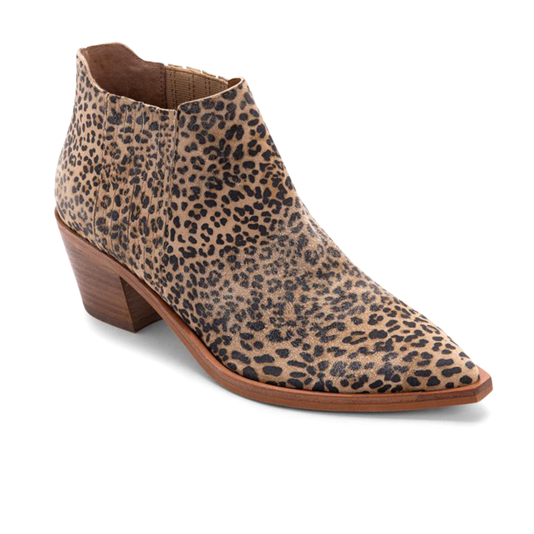 Dolce Vita Shana Boot In Blacktan Sueded Leopard 73549