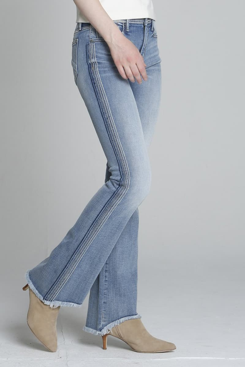 Driftwood Isabel Flare Blue Macey Jean 70021