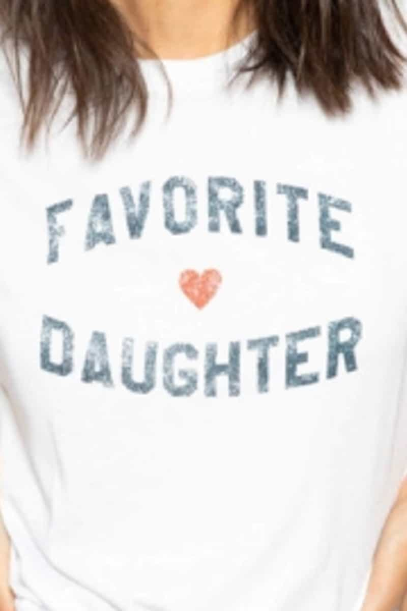 Favorite Daughter Tee In White 64257