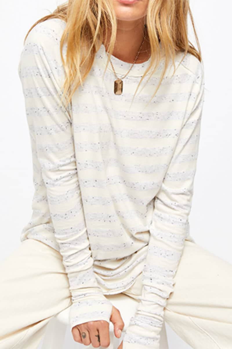 Free People Arden Stripe Tee 58750