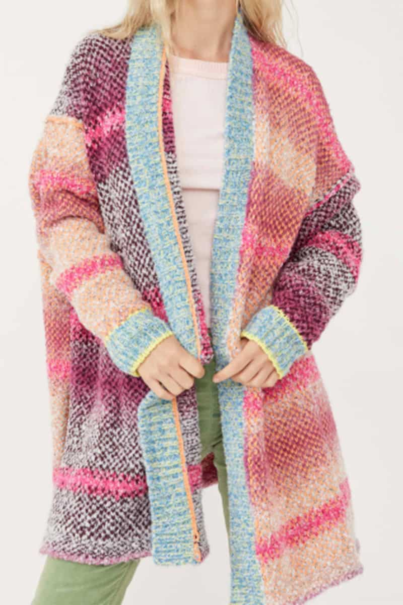 free people daydreamer cardi in orchid cloud 95610