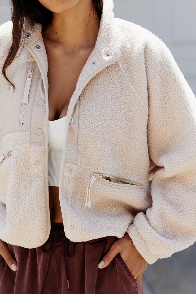 free people hit the slopes jacket in fawn 93801