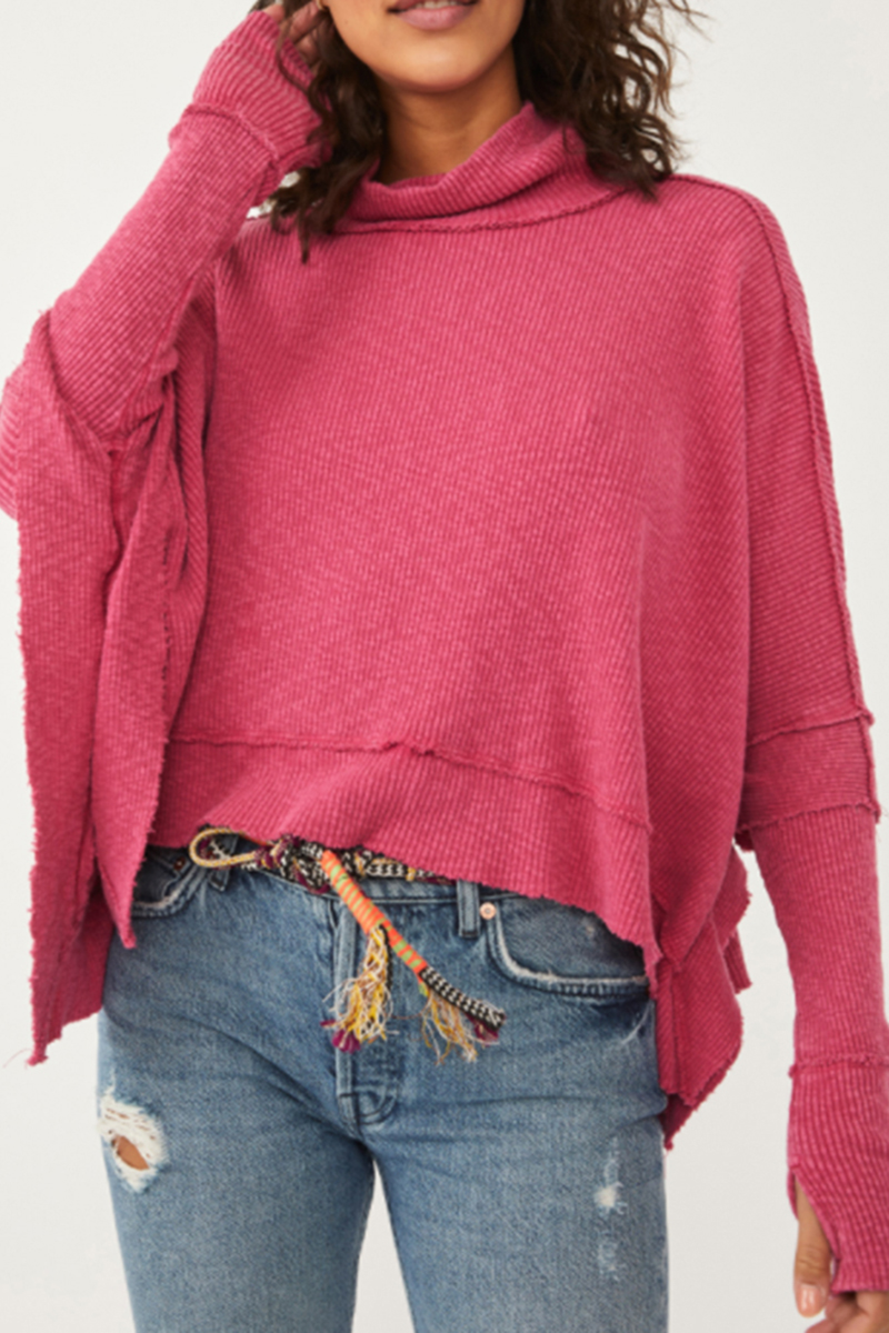 free people moon daisy rose top in rose hypnotic 95616