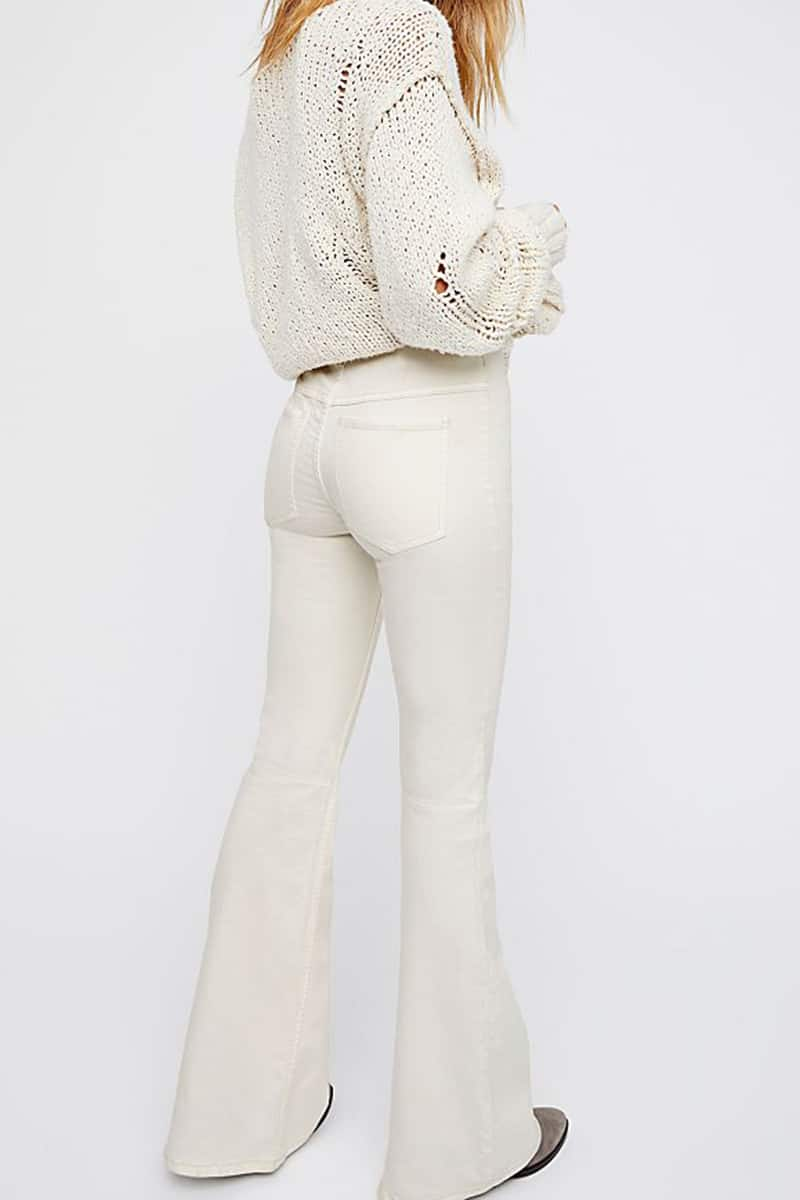 Free People Penny Pullon In White 67632
