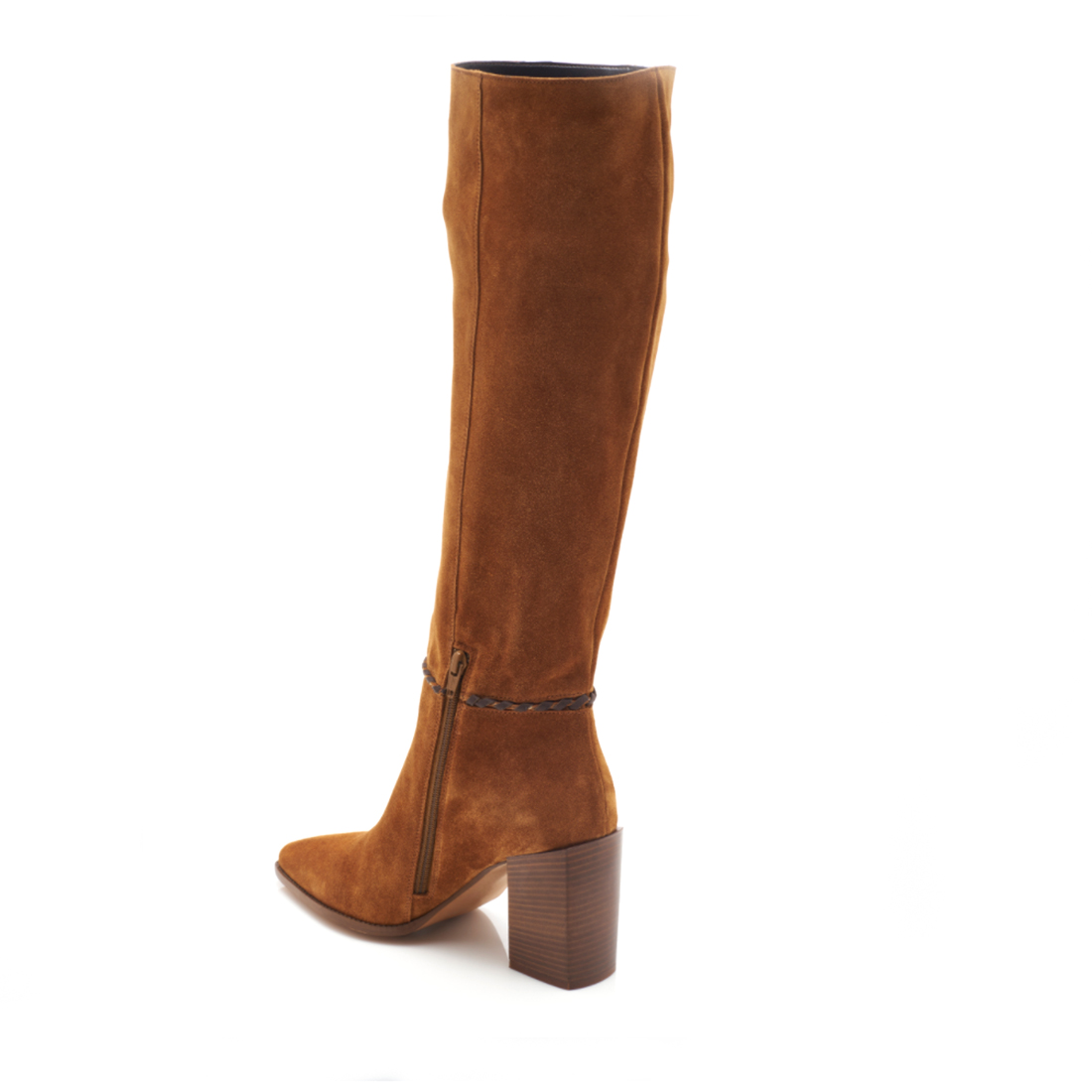 free people riley whipstitch tall boot in vintage tan 96347