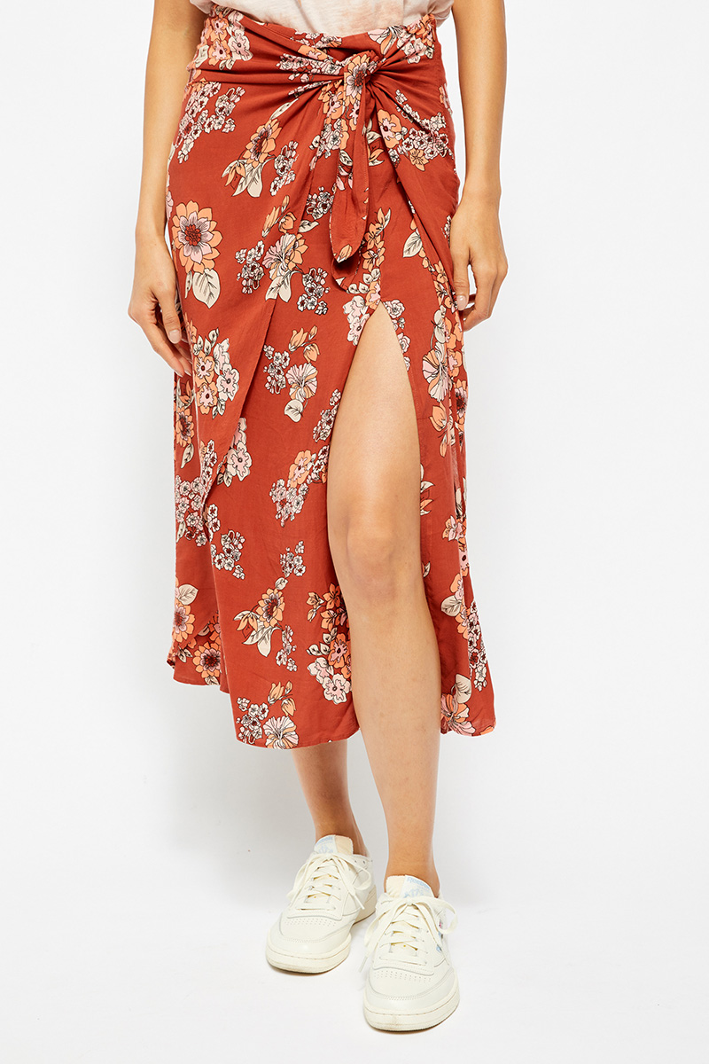 Free People Sunray Sarong In Light Combo 63959