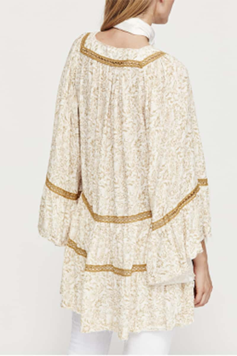 3f8e2c7f33415 Free People Talk About It Tunic in Ivory • Cotton Island Women s ...