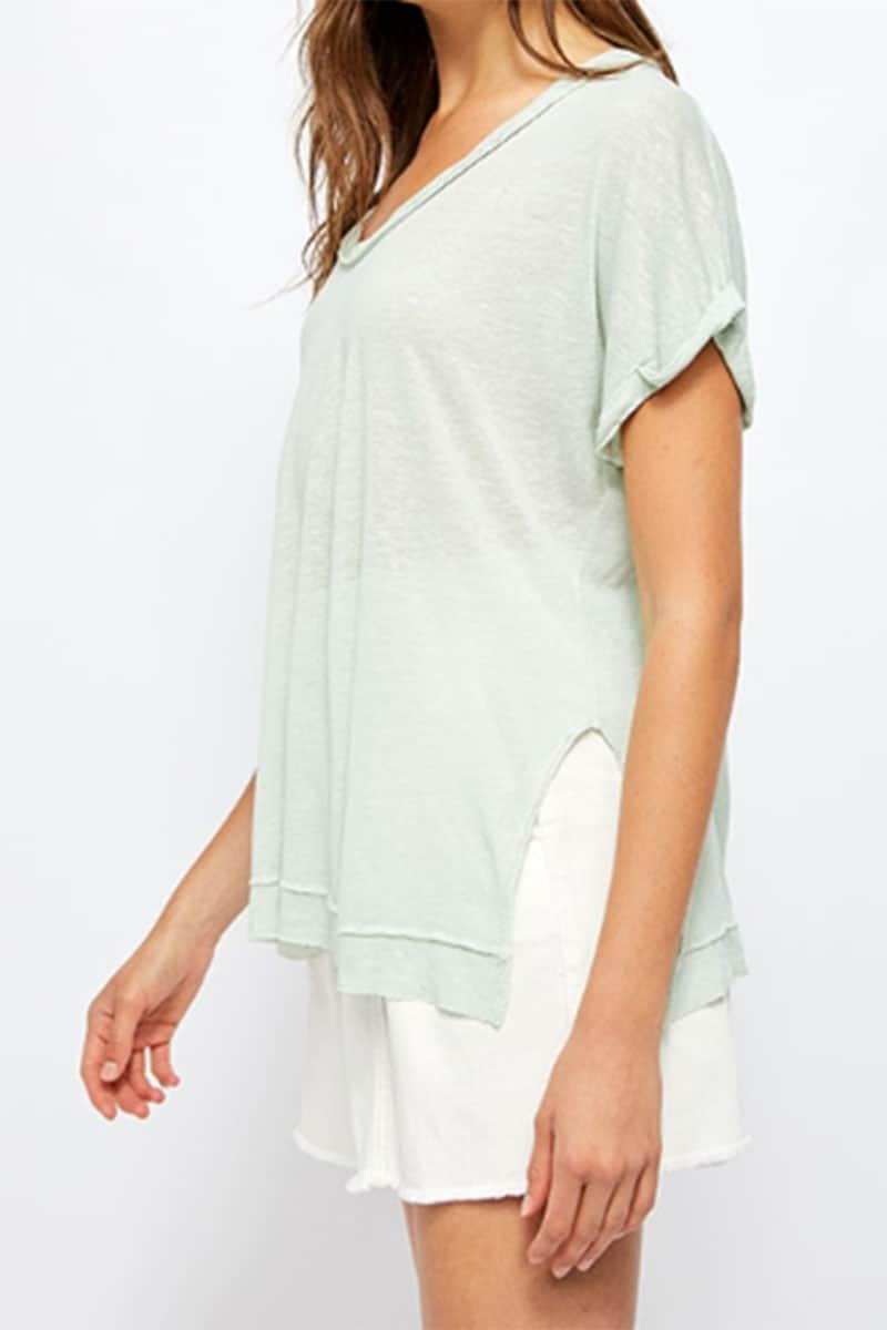 Free People Under The Sun Tee In Ponderosa 58749