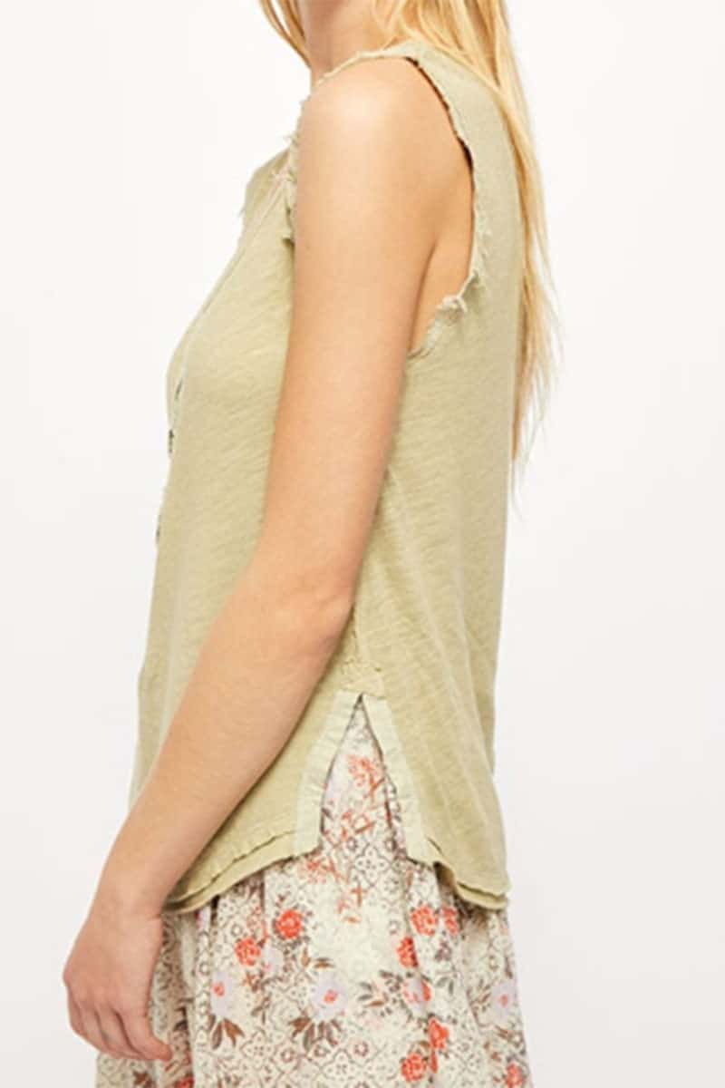 Free People Vacay Tank In Cyprus 58748