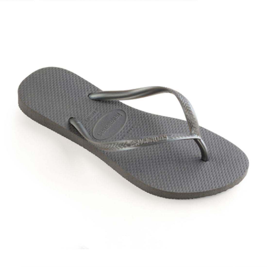 Havaianas Slim Sandals In Steel Gray 81407