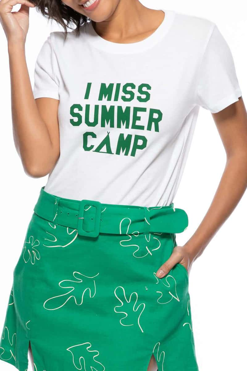 I Miss Summer Camp Tee 70889