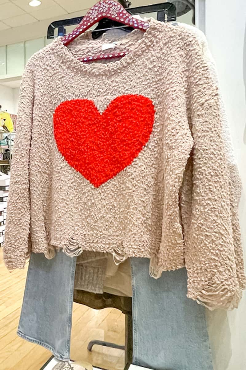 Love Popcorn Sweater 80646
