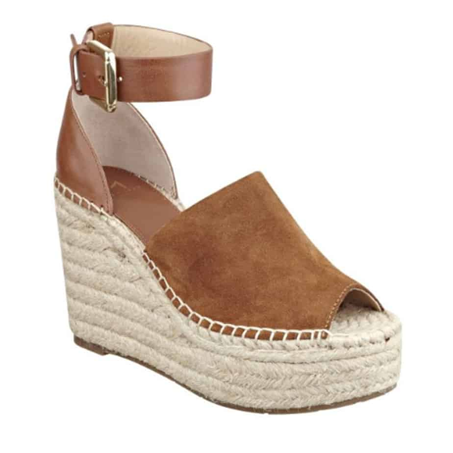63e76f1d6ce Marc Fisher Adalyn Suede Wedge in Natural