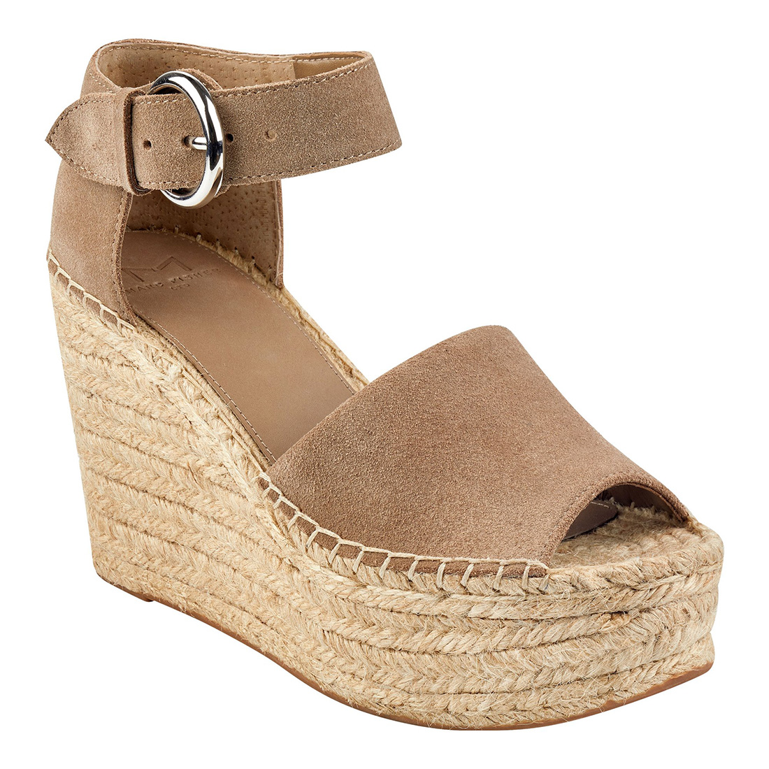 Marc Fisher Alida Taupe Suede Wedge 62582