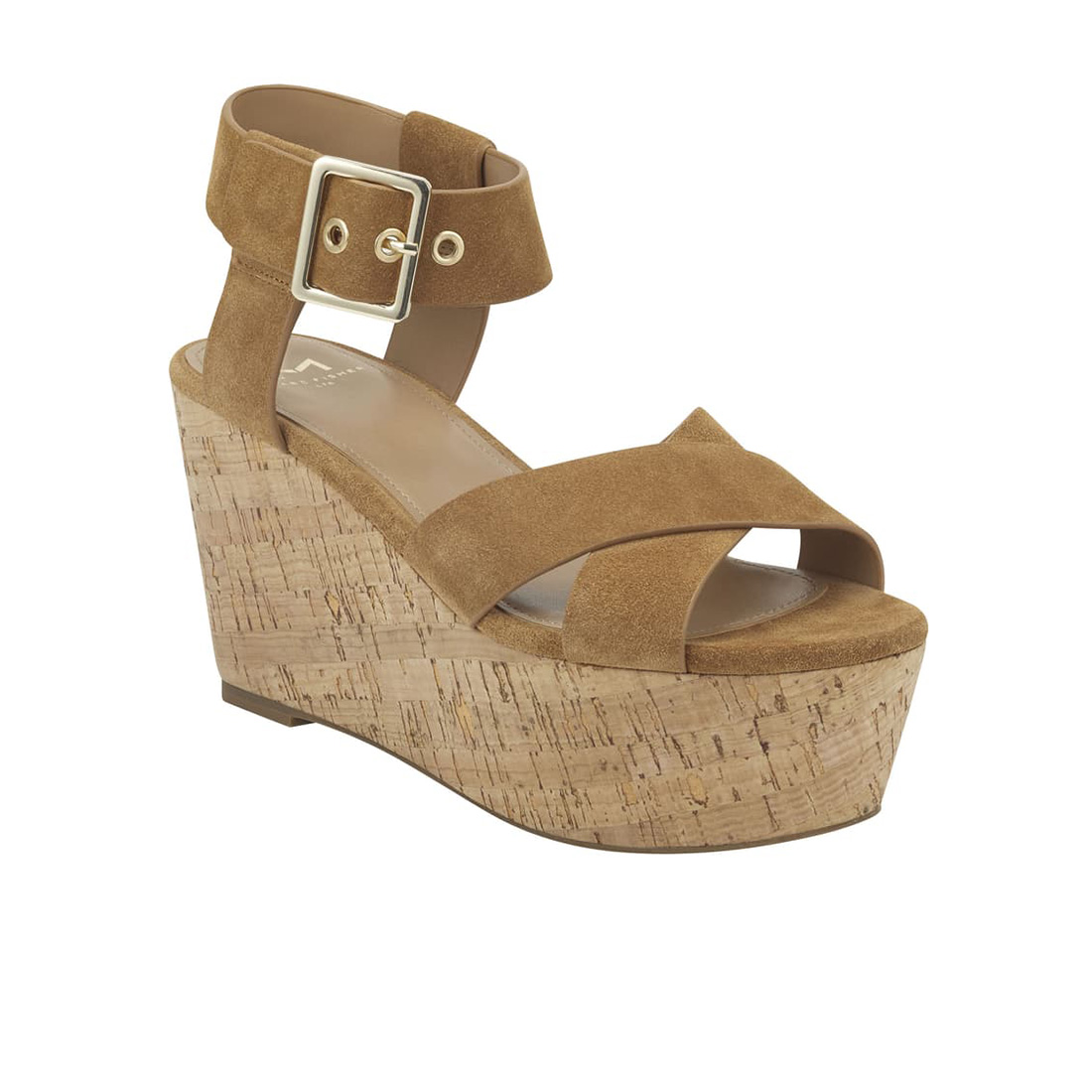 Marc Fisher Cacie In Medium Natural Suede 61494