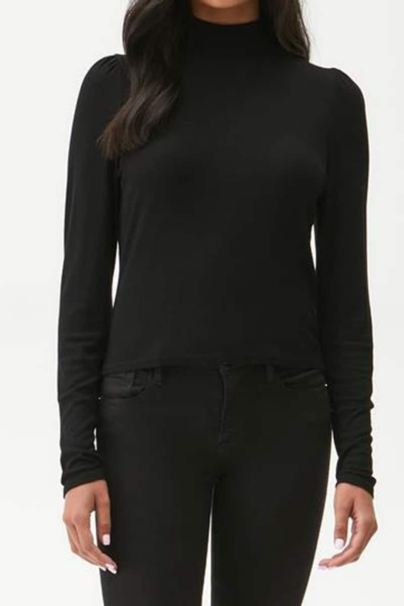 Michael Stars Esme Top In Black 76269