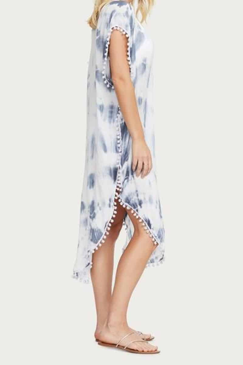 Michael Stars Makayla Cover Up In Blue 66039