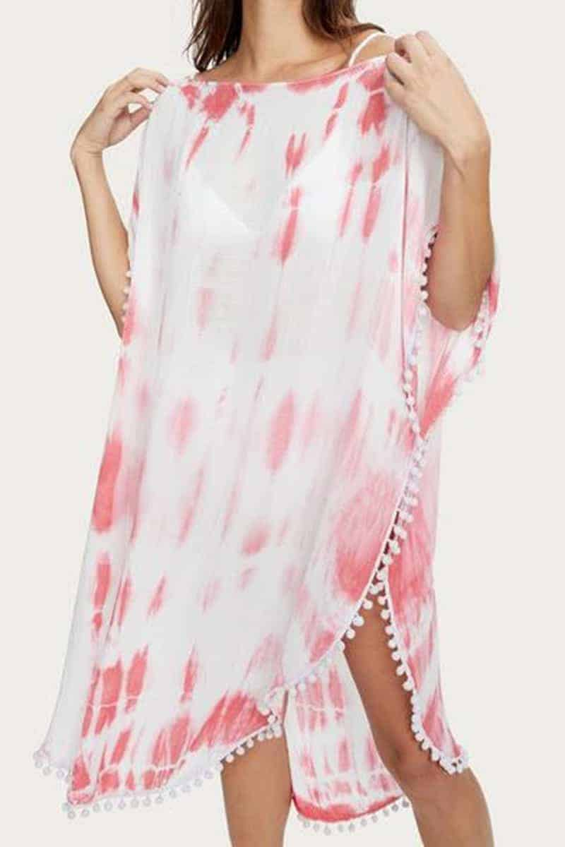 Michael Stars Makayla Cover Up In Pink 66040