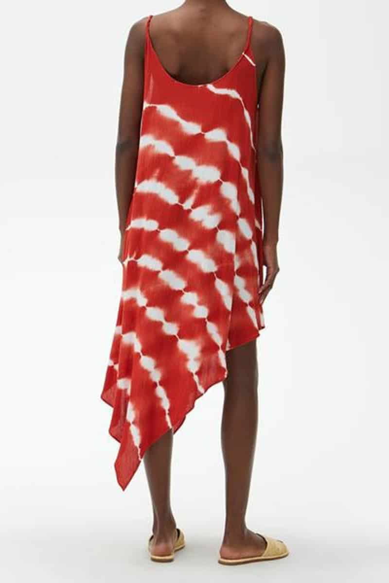 Michael Stars Nicolette Coverup In Red Clay 68852