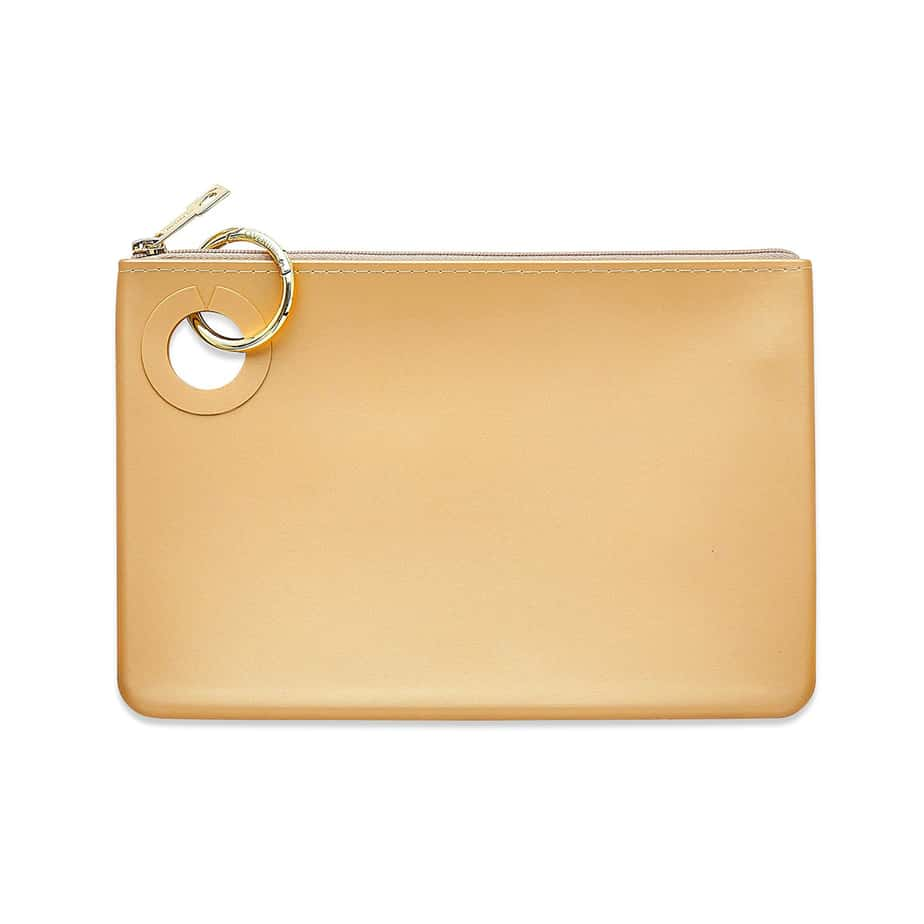o venture large silicone pouch in gold rush 92373