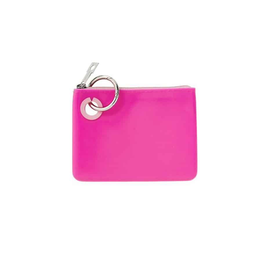 o venture mini silicone pouch in tickled pink 92369