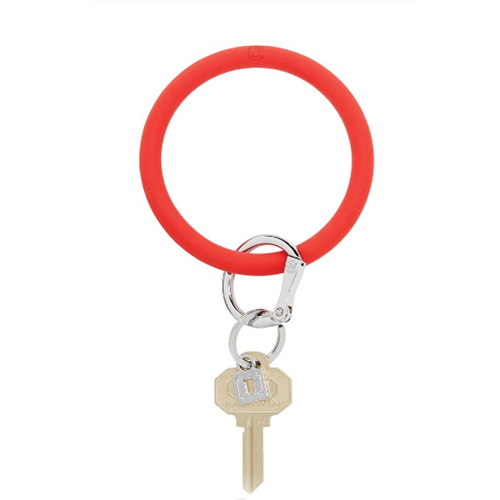 o venture silicone o ring cherry on top keyring 92365